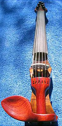 Oregon Storm Harvest Maple Electric Six String Violin